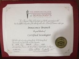 A.C.S. Holistic Sexologist